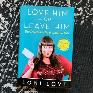 💙 Love Him or Leave Him Book by Loni Love 💙